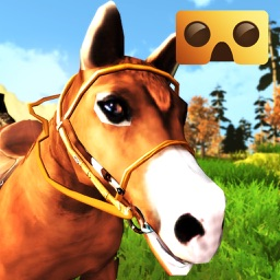 VR Horse Riding Simulator : VR Game for Google Cardboard