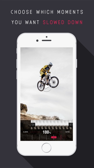 Screenshots of Slow Motion - Video Camera Slo Mo, Fast Mo & Stop Speed Editor for YouTube & Instagram for iPhone