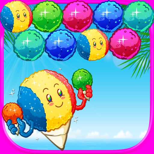 Bubble Snow Cones Candy Pop - Arcade Dessert Shooter Mania FREE