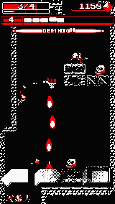Downwell screenshot1