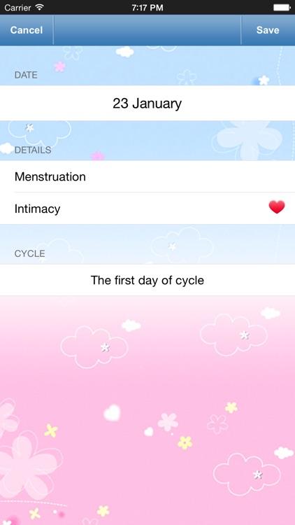 Menstrual Calendar & Tracker screenshot-3