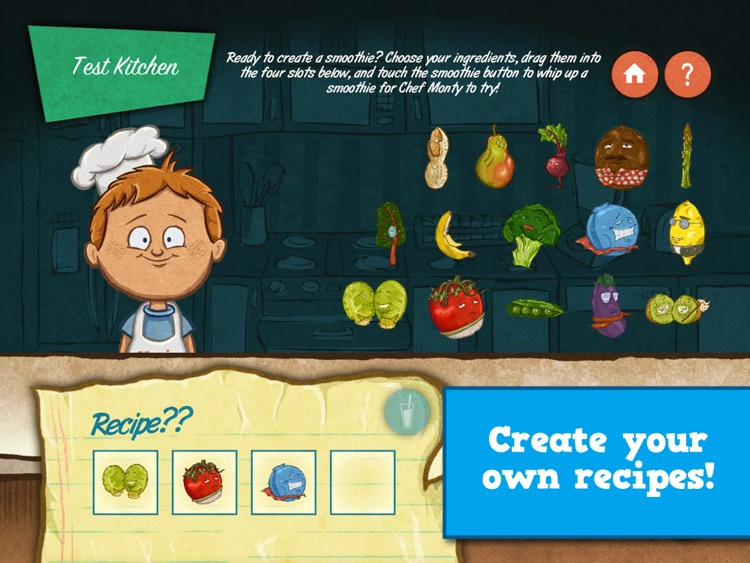 Veggie Bottoms Kitchen – The Fun Kids Cookbook screenshot-3