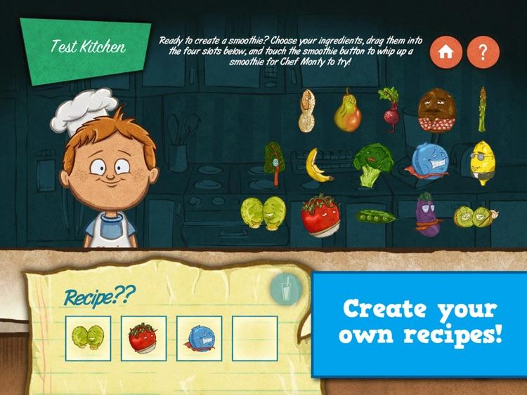 Veggie Bottoms Kitchen – The Fun Kids Cookbook screenshot-3