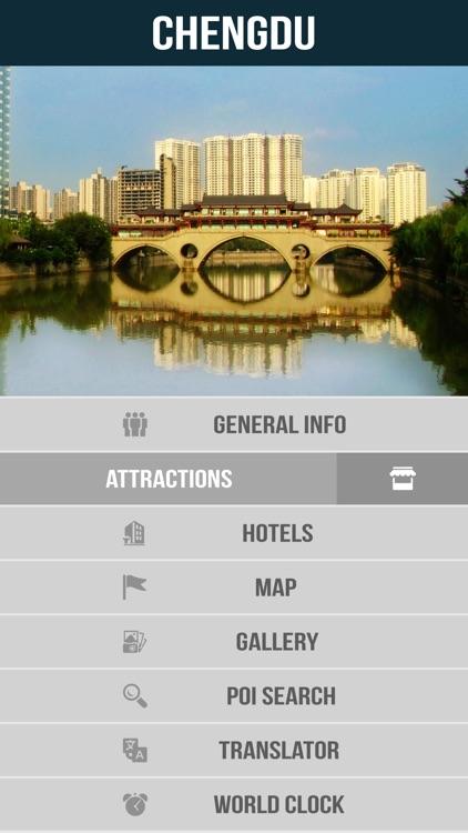 Chengdu City Offline Travel Guide