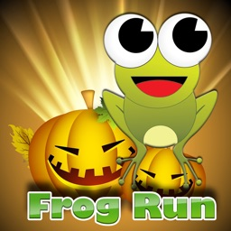 Halloween Frog Run Game for Kids