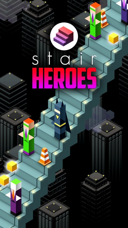 Stair Heroes . Mini Super Hero Survival Game For Free screenshot-0
