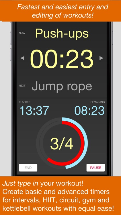 Kutya Timer - HIIT & Intervals screenshot-0