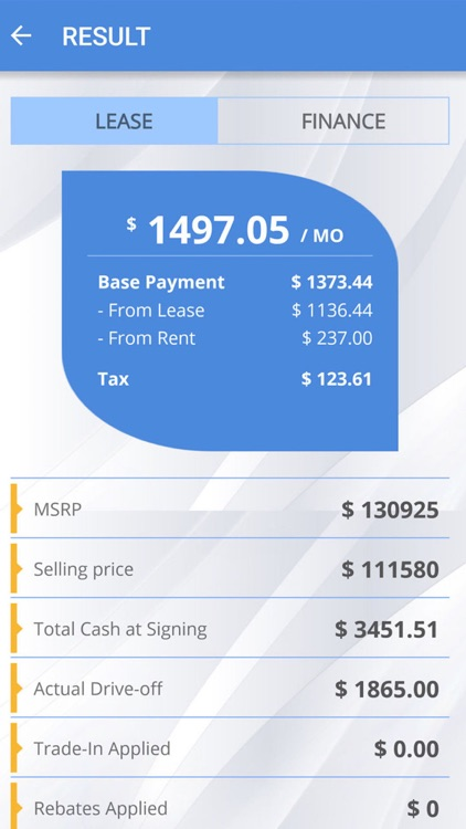 Lease Payment Calculator | Car Lease Payment Calculator By Nexuslab