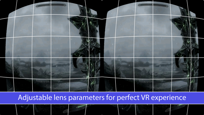KinoVR 3D Virtual Reality Streamer Screenshot