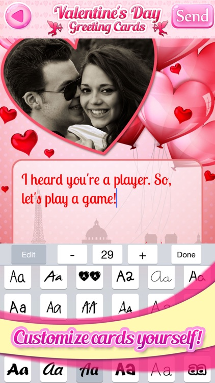 DIY Valentine's Day Greeting Cards and Customized eCards screenshot-3