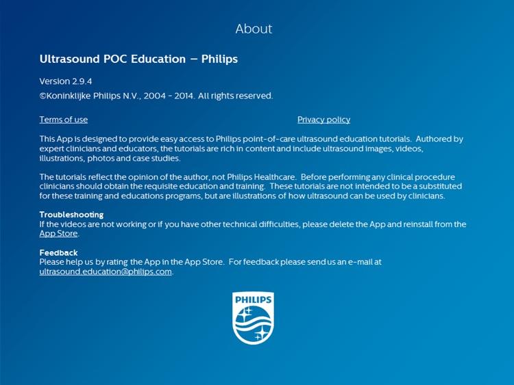 Ultrasound POC Education - Philips
