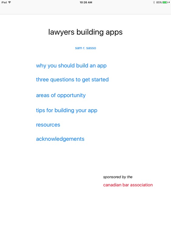 lawyers building apps