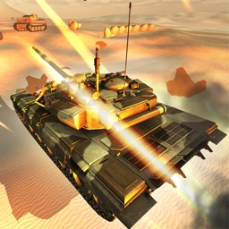 Tank Attack: Urban War Sim - 3D Army Tanks Gunship Battle