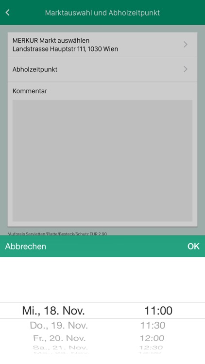 MERKUR Partyservice screenshot-3
