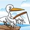 鳥の釣り:子供のための深海でのアドベンチャーゲーム