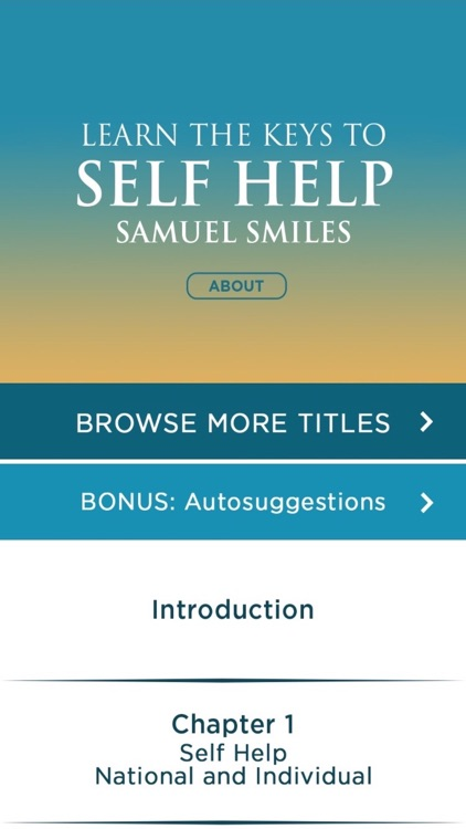 Self Help Meditations by Samuel Smiles screenshot-1