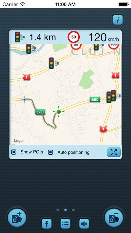 i SpeedCam Germany (Speed Camera Detector with GPS Tracking) screenshot-1