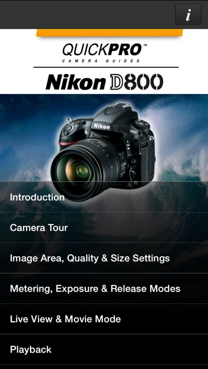 Nikon D800 from QuickPro HD