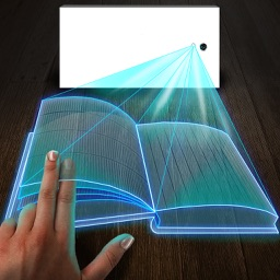 Hologram 3D Book Simulator