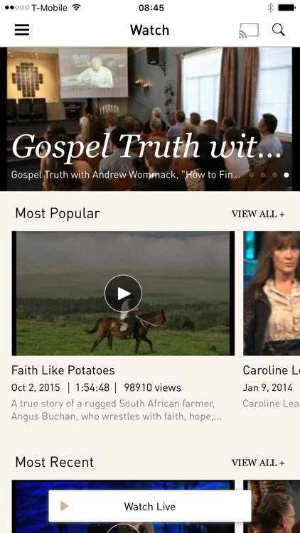 TBN: Watch TV Shows and Live TV for Free