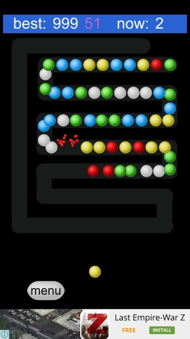 Bubble Shooter:Zig Zag Way screenshot four
