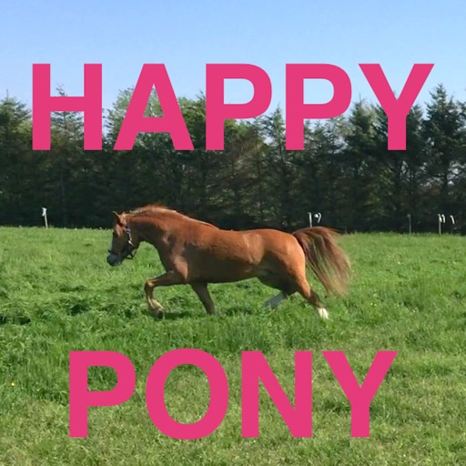 Happy Pony for iPhone by Horse Reader icon