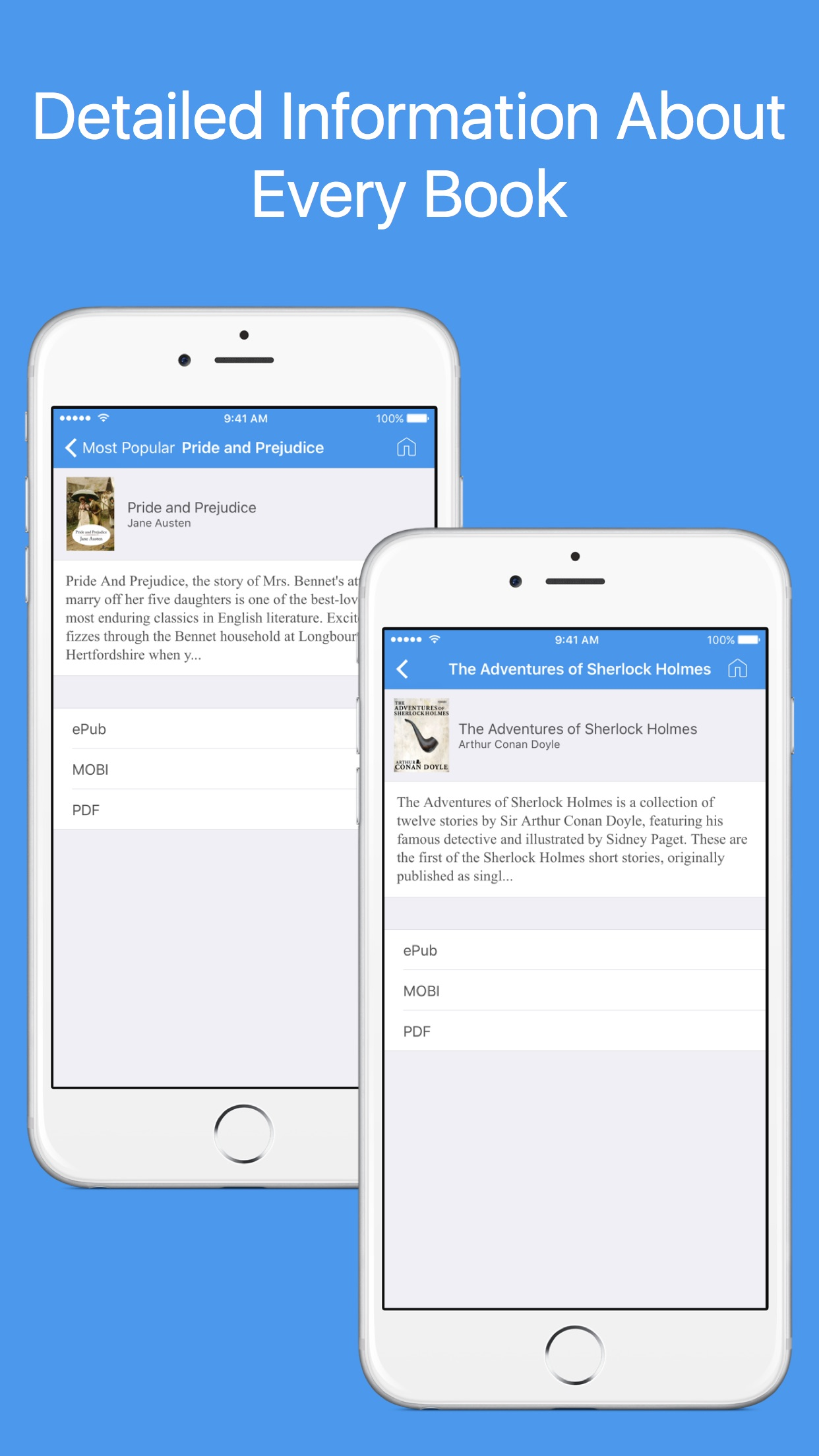 Book Finder - Search and download free eBooks Screenshot