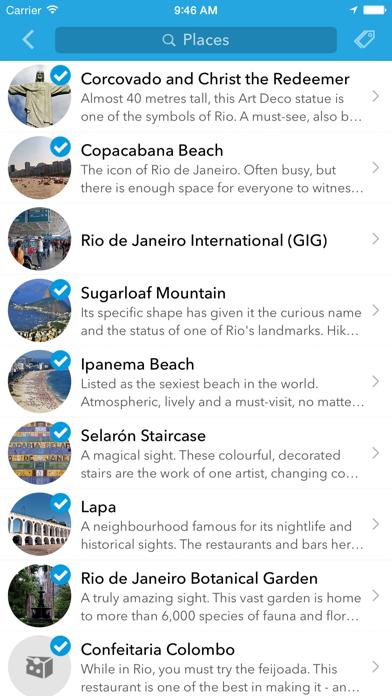 Screenshot of Pianificatore, guida di viaggio e mappa offline per Messico, Caraibi, America Centrale e Brasile3