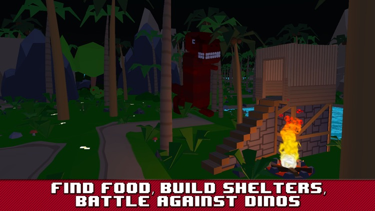 Dino Island Survival Simulator 3D screenshot-1