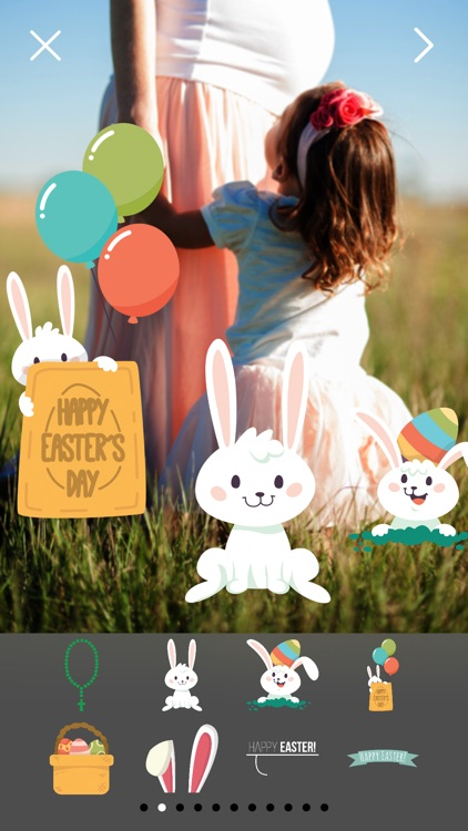 Happy Easter Pro - Easter Celebration Everyday Photo Stickers screenshot-3