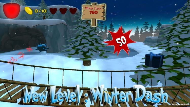 Apple Avengers : Free fun run and jump platform adventure game with super hero fighting fruit