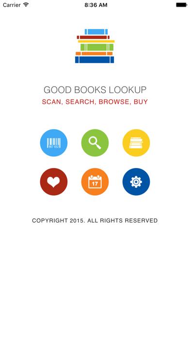 Good Books Lookup screenshot one