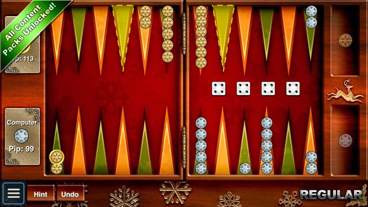 Backgammon HD screenshot-3