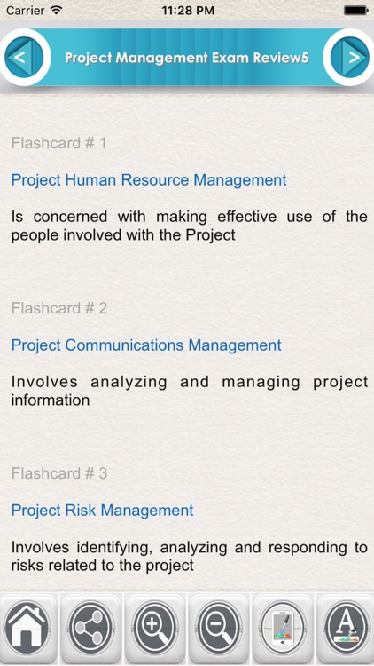 Project Management Exam Review