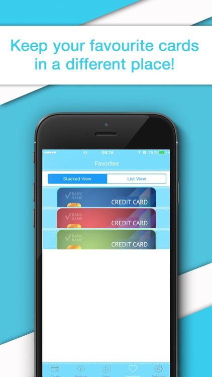 Credit Card Wallet - Reader & Scanner for Cards screenshot-4