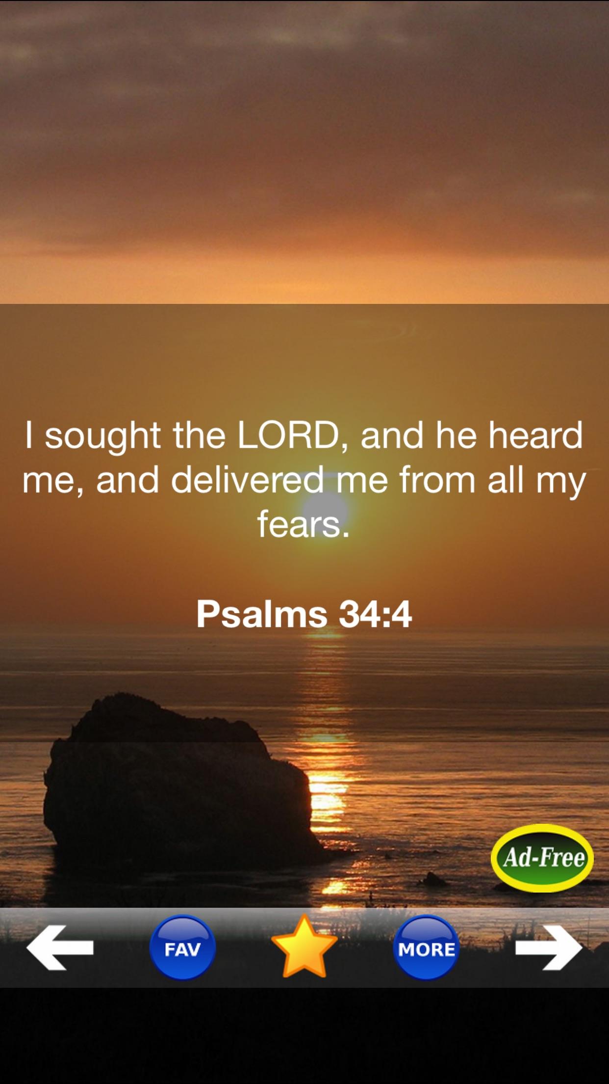 Inspirational Bible Verse of the Day FREE! Daily Bible Inspirations, Scripture & Christian Devotionals! Screenshot