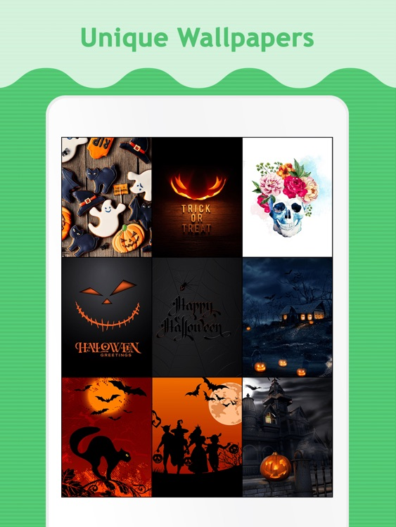 Halloween Wallpapers for iPad. screenshot-0