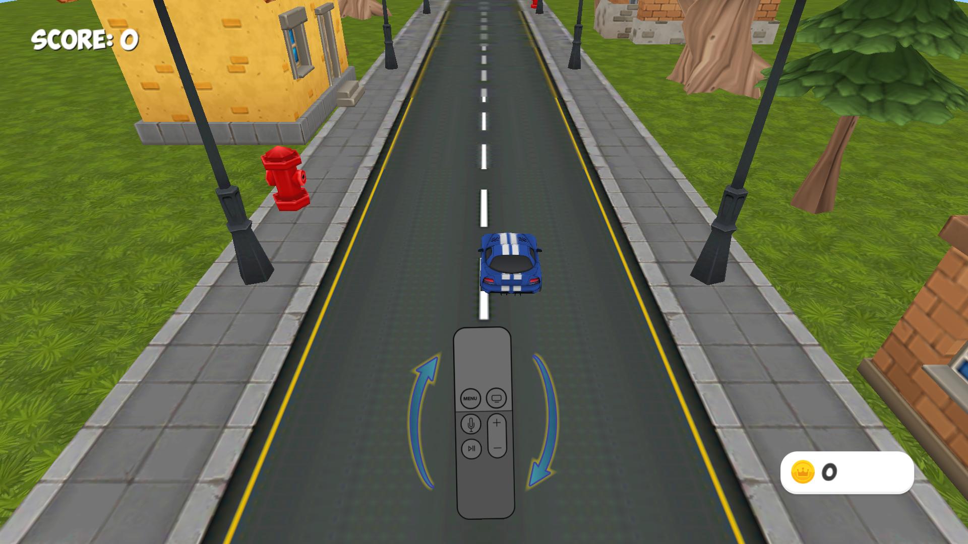 Racer Cars 3D for TV screenshot 3