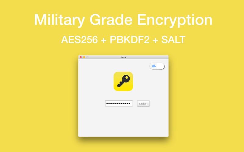 Screenshot #2 for Keys - Password Manager