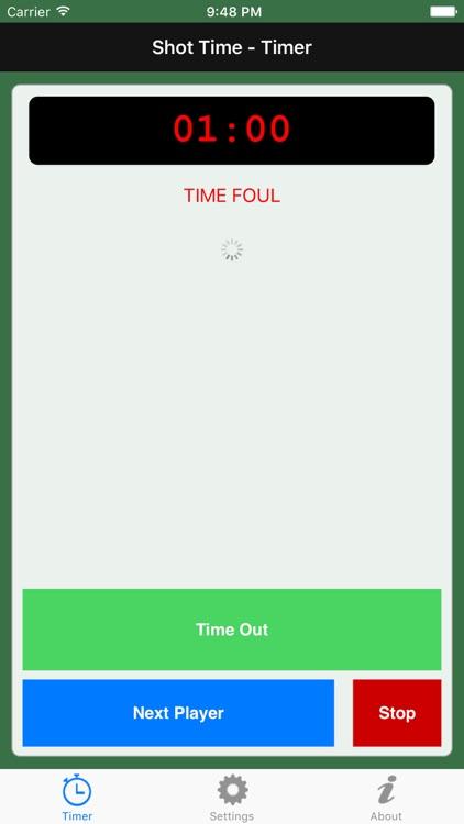 Shot Time Lite - Pool Timer screenshot-3