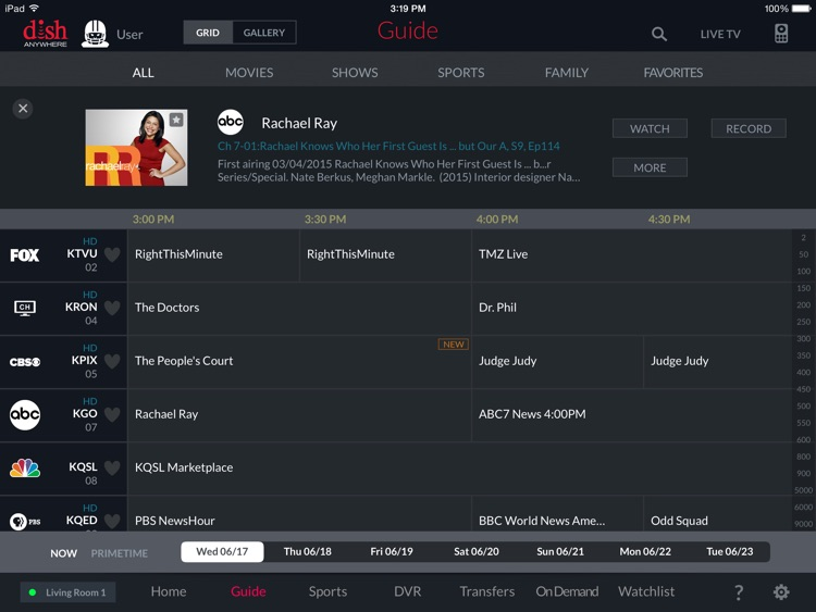 DISH Anywhere for iPad screenshot-3