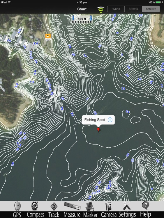 Lake Texoma GPS Charts Pro screenshot-1