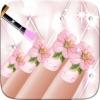 awesom の結婚式の日と有名人ネイルサロン - 美しいプリンセス マニキュア派手な変身ゲーム