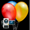 App Icon for Happy Birthday Videos HBV - Video dubbing to congratulate your friends App in Denmark IOS App Store