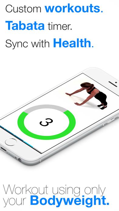 Virtual Trainer Bodyweightのおすすめ画像1