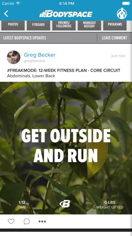 BodySpace - Social Fitness App screenshot-4