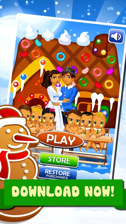 Little Christmas Babies Doctor Salon -  Spa Cooking Food Kids Games for Girls! screenshot-3
