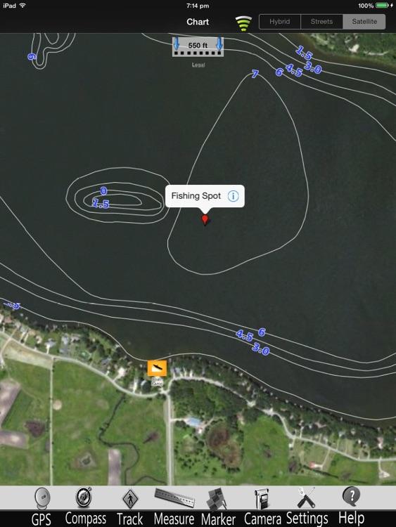 Lake Andrew Nautical Chart Pro