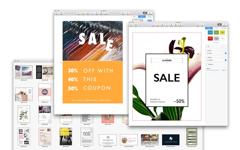Graphic Design Expert - Templates for Pages Screenshots