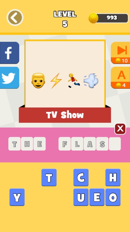 QuizPop Mania! Guess the Emoji Movies and TV Shows - a free word guessing quiz game screenshot-3